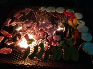 神津島BBQ