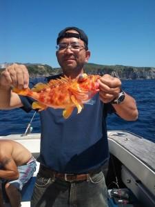 神津島 釣り
