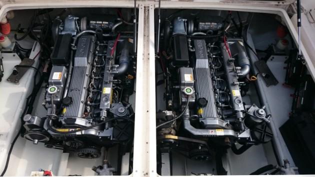 トヨタ ポーナム28GII エンジンルーム