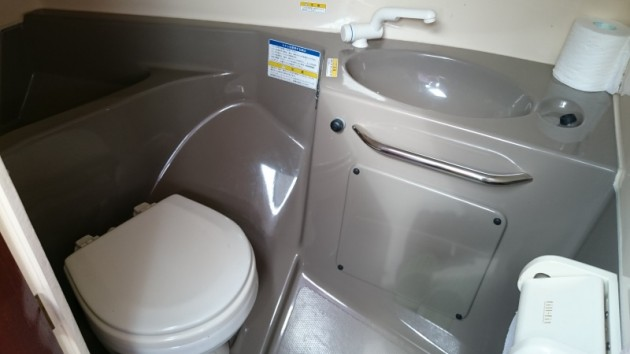 トヨタ ポーナム28GII トイレ