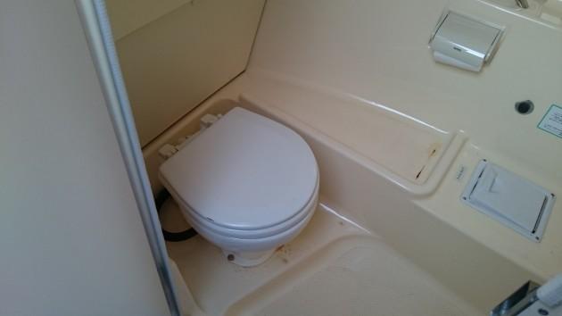 ヤマハFC-26 トイレ
